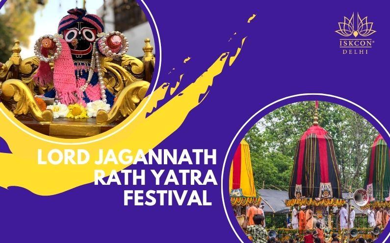 lord jagganath rath yatra ISKCON Delhi