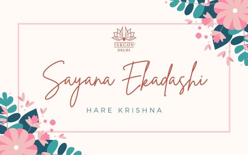 Sayana Ekadashi