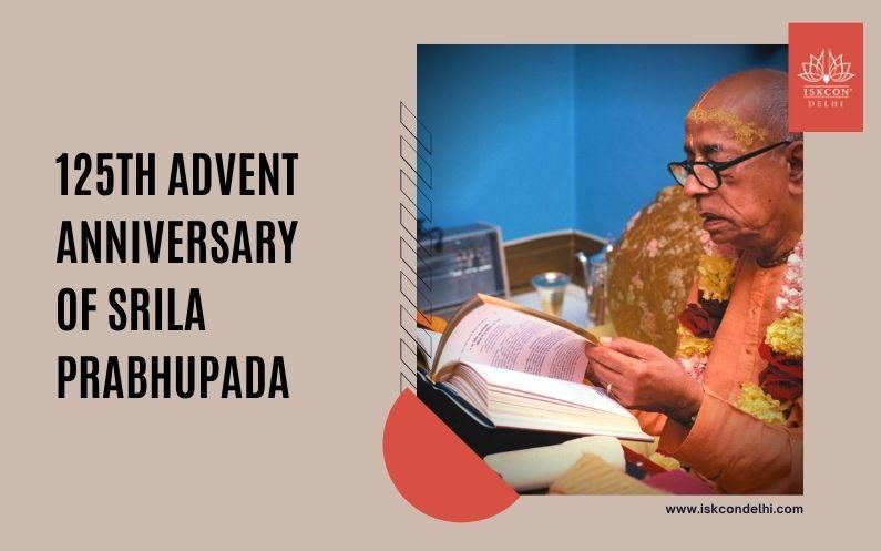 125th advent anniversary of Srila Prabhupada