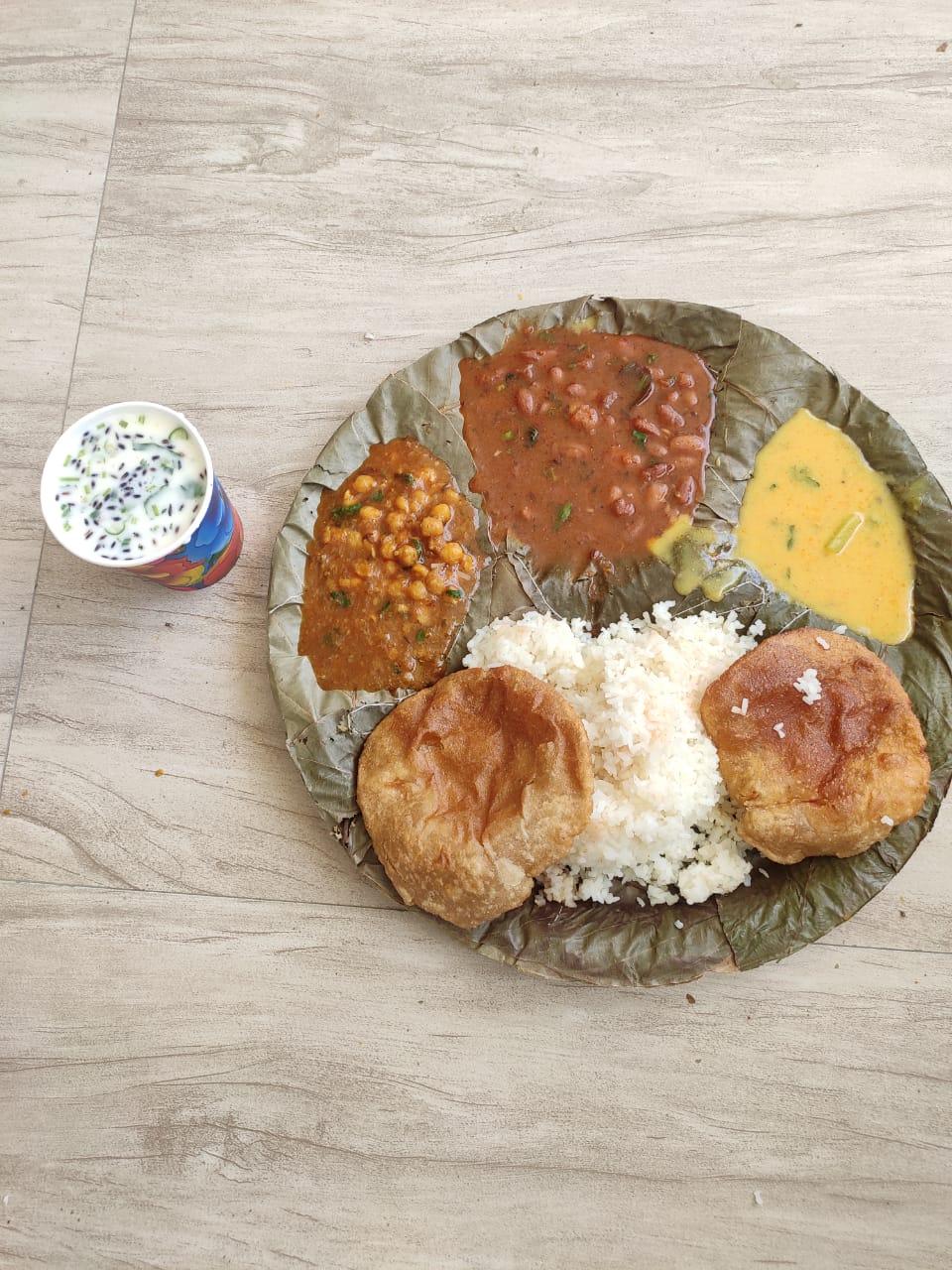 Nutritious Food donation by ISKCON Delhi